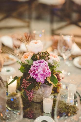 Centro de mesa boda el taller de luc%c3%ada