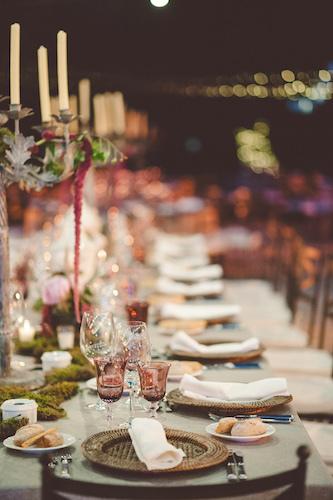 Deco mesa presidencial boda 2