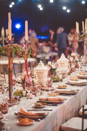 Deco mesa presidencial boda