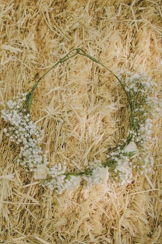 Corona paje rosas y paniculata 3